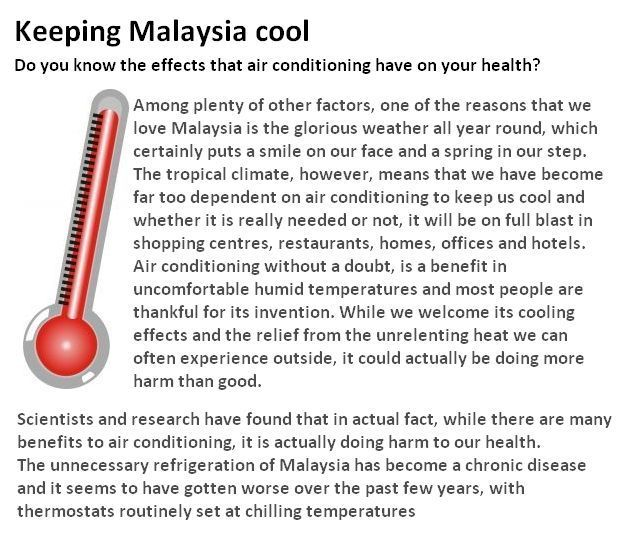 Air Conditioning Effects Tcl Malaysia